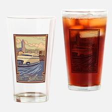 Seattle, Washington - Kalakala Ferry Drinking Glas