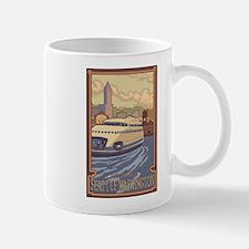 Seattle, Washington - Kalakala Ferry Mugs
