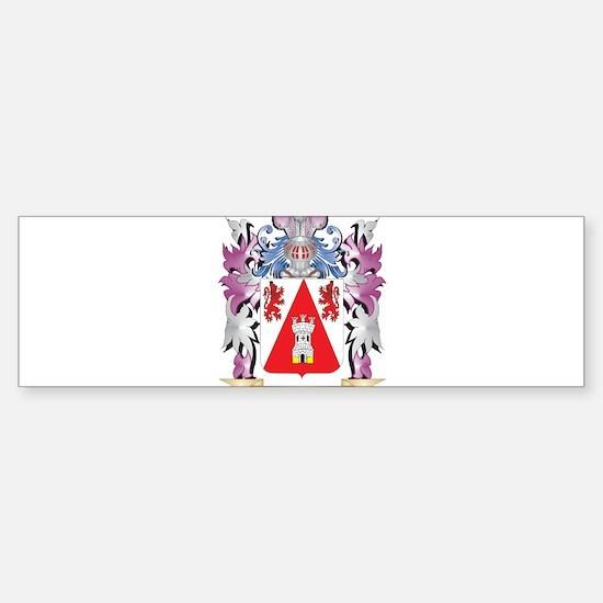 Enrique Coat of Arms (Family Crest) Bumper Bumper Stickers