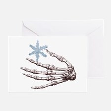 Skeletal Snowflake Solstice Cards (Pk of 20)