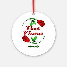 BEST NANA Ornament (Round)