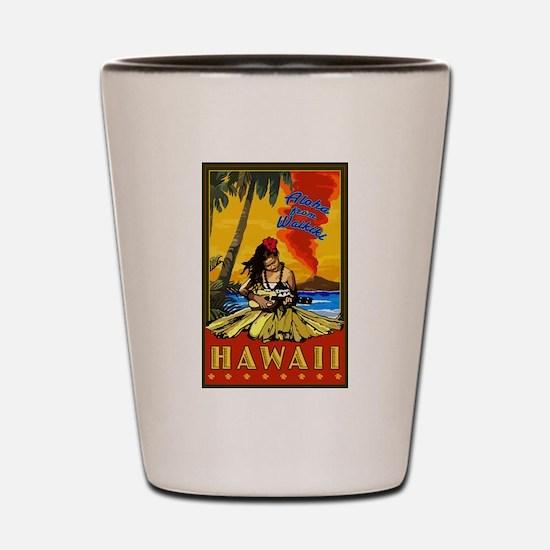 Waikiki, Hawaii Shot Glass