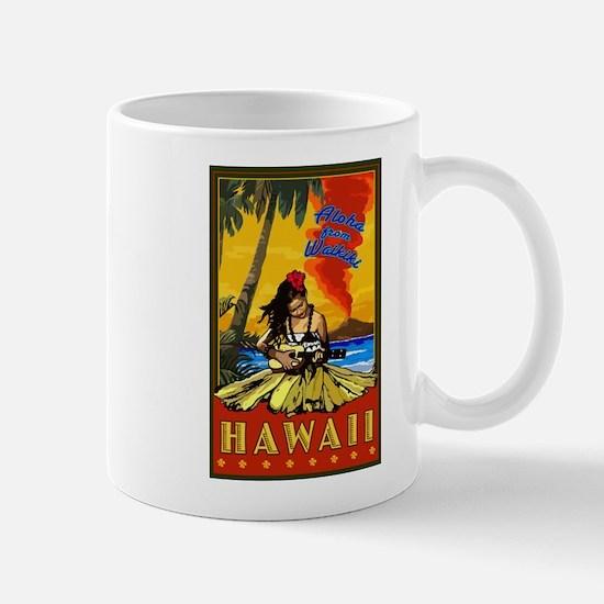 Waikiki, Hawaii Mugs