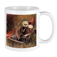 """Paul Helleu Sketching With His Wife"" - Mug"