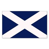 Flag scotland Bumper Stickers