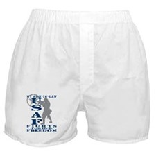 Son-in-Law Fights Freedom - USAF Boxer Shorts
