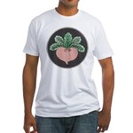 Red Beet Fitted T-Shirt