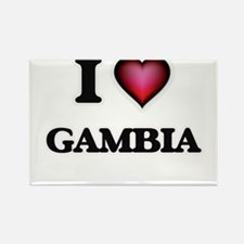 I love Gambia Magnets