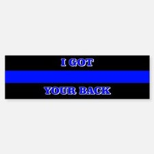 I Got Your Back Bumper Bumper Bumper Sticker