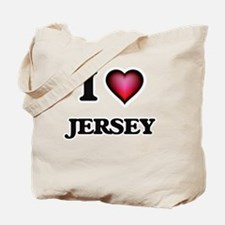 I love Jersey Tote Bag