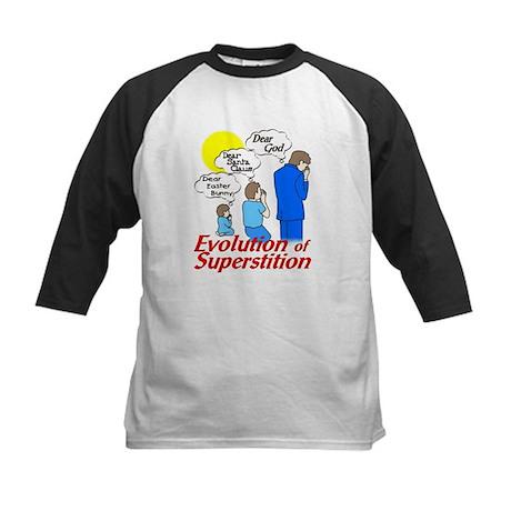 Evolution of Superstition Kids Baseball Jersey