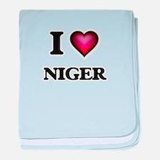 I love Niger baby blanket