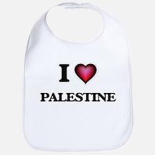 I love Palestine Bib