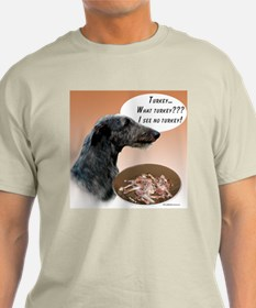Deerhound Turkey T-Shirt