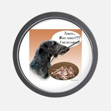 Deerhound Turkey Wall Clock