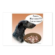 Deerhound Turkey Postcards (Package of 8)