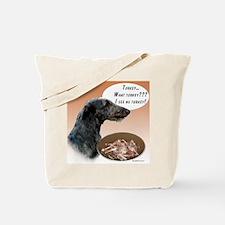 Deerhound Turkey Tote Bag