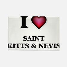 I love Saint Kitts & Nevis Magnets