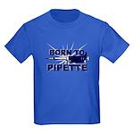 Born to Pipette Kids Dark T-Shirt