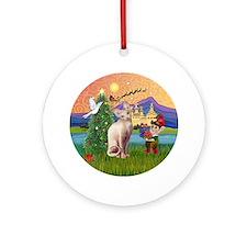 Sphynx Xmas Fantasy Ornament (Round)
