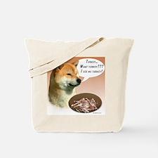 Shiba Turkey Tote Bag