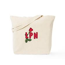 LPN Rose Tote Bag