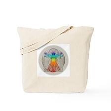 Tote Bag - Vitruvian Chakras