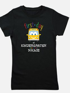 Custom Kindergarten Girl's Tee