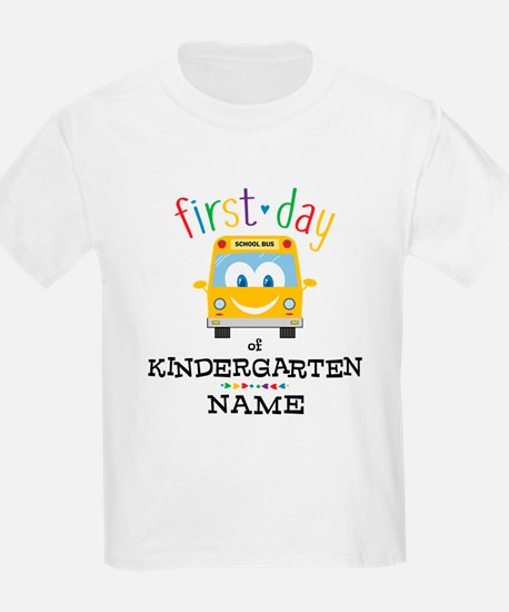 Custom Kindergarten T-Shirt