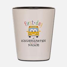 Custom Kindergarten Shot Glass