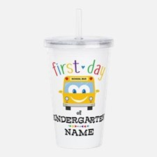 Custom Kindergarten Acrylic Double-wall Tumbler