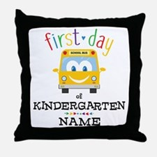 Custom Kindergarten Throw Pillow