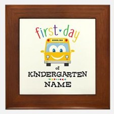 Custom Kindergarten Framed Tile
