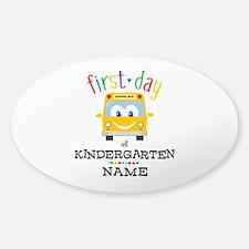 Custom Kindergarten Decal