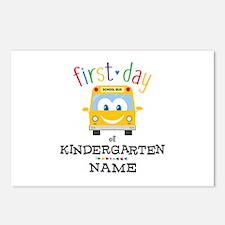 Custom Kindergarten Postcards (Package of 8)