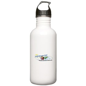 Family Disaster Dogs Water Bottle