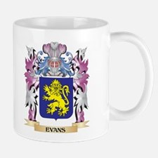 Evans Coat of Arms (Family Crest) Mugs