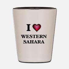 I love Western Sahara Shot Glass