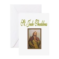St. Jude Thaddeus Greeting Card