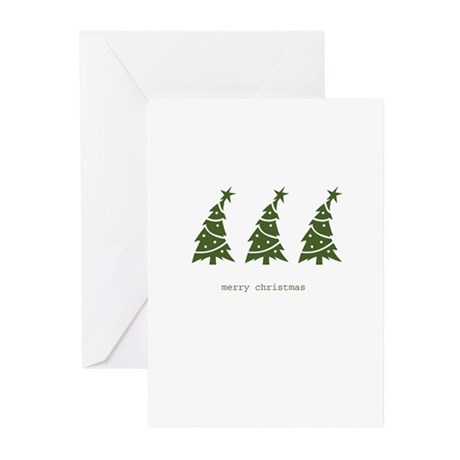 WE THREE TREES Greeting Cards (Pk of 10)