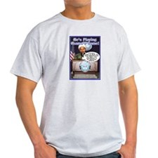 Osama's Game Ash Grey T-Shirt