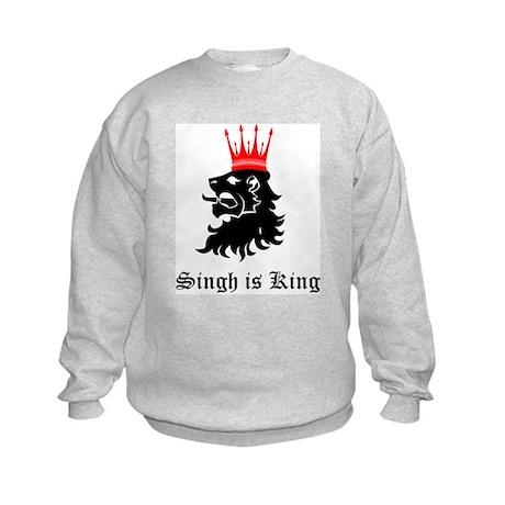 Singh is King Kids Sweatshirt