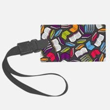 Cute The book worm Luggage Tag