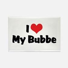 I Love My Bubbe Rectangle Magnet (10 pack)
