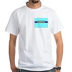 True Blue Wyoming LIBERAL - White T-Shirt