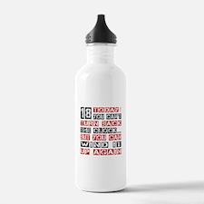 18 Birthday Turn Back Water Bottle