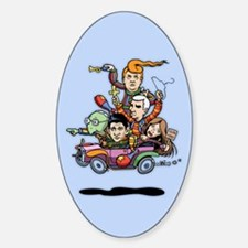 GOP Clown Car '16 Decal