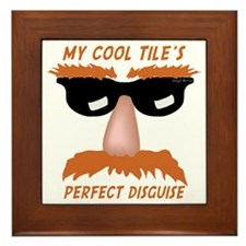 Perfect Disguise Framed Tile