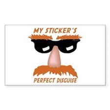 Perfect Disguise Rectangle Decal