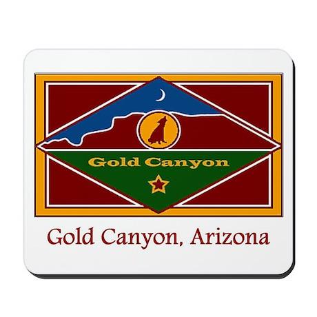 Gold Canyon AZ Flag Mousepad